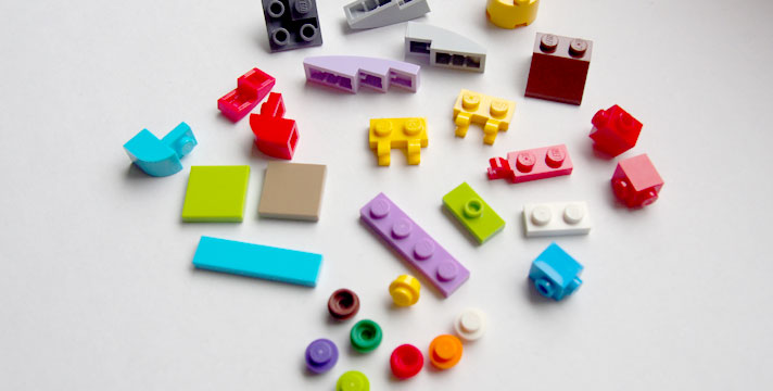 レゴ小さいピース