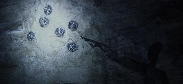 古代遺跡で発見された星図