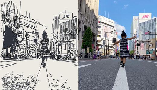 Olli アプリで写真や動画を手描き風イラストに変換